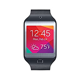 Samsung Gear 2 Neo Smartwatch - Charcoal Black (Certified Refurbished)