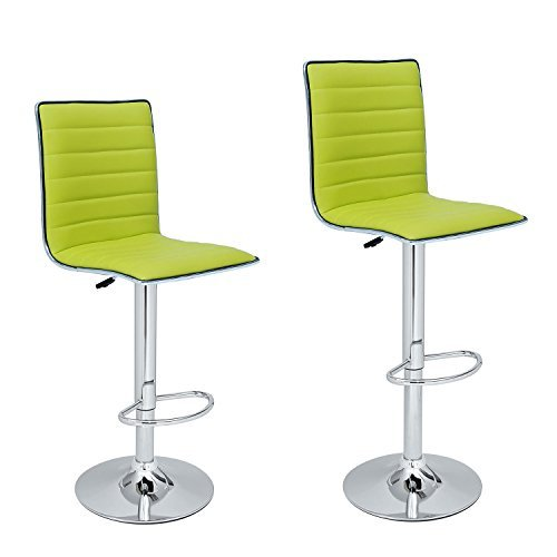 lime green kitchen chairs