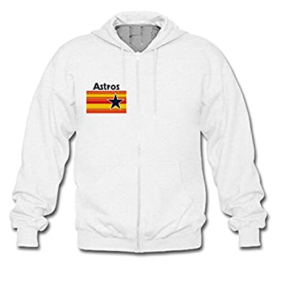 Unisex Houston Astros Zip Hoodie Sweatshirt Custom Men's and Women's Hoodies