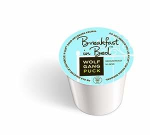 Wolfgang Puck Coffee, Breakfast in Bed (Medium Roast), 24-Count K-Cups for Keurig Brewers (Pack of 2)