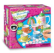 Porcelain Painting  Tea Set BJ Toys - Buy Porcelain Painting  Tea Set BJ Toys - Purchase Porcelain Painting  Tea Set BJ Toys (bj toys, Toys & Games,Categories,Pretend Play & Dress-up,Sets,Cooking & Housekeeping,Dishes & Tea Sets)