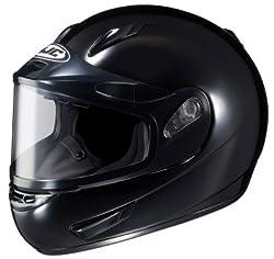 HJC CL-15SN Black Snow Helmet with Electric Shield