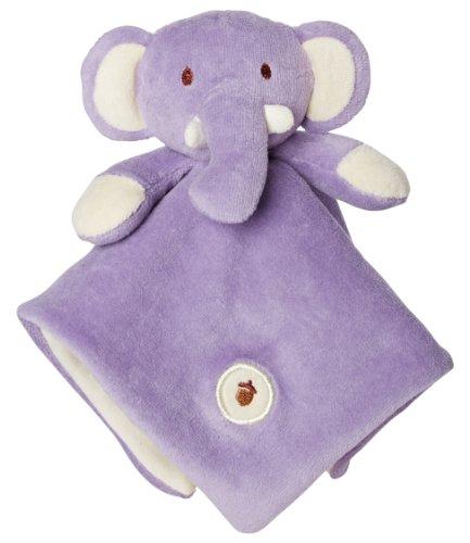 My Natural Lovie Blankie, Purple Elephant front-33195