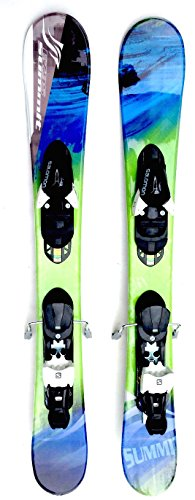 Summit Skiboards EZ95 w. Salomon Release L10 Bindings Skiblades Snowblades 2016
