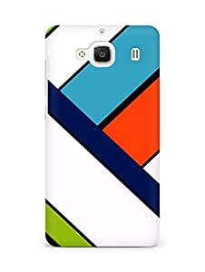 Amez designer printed 3d premium high quality back case cover for Xiaomi Redmi 2 (Light colors line)