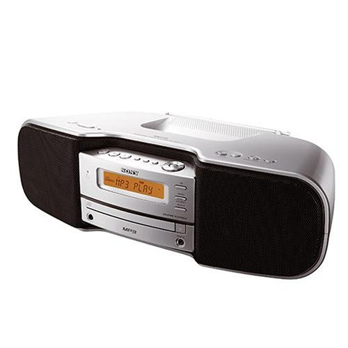 sony zs s 50 tragbarer mp3 cd player mit radio silber. Black Bedroom Furniture Sets. Home Design Ideas