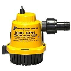 Buy Johnson Pumps 22102 1000 GPH Proline Bilge Pump by Johnson Pumps
