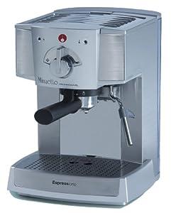 Espressione Café Minuetto Professional Thermoblock Espresso Machine, Silver by Espressione