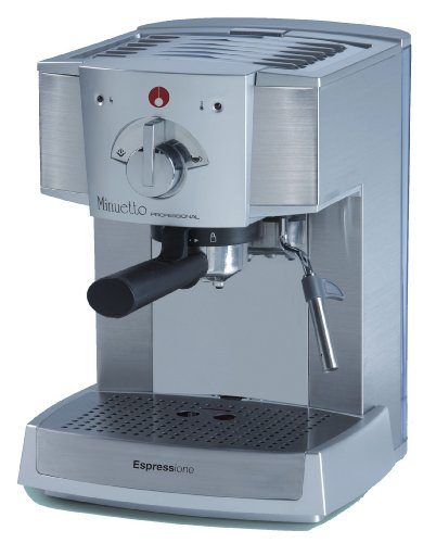Why Choose Espressione Café Minuetto Professional Thermoblock Espresso Machine, Silver