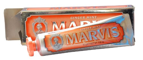 (6,4 Euro / 100 ml) Marvis Zahncreme Ginger Mint