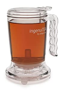 Adagio Teas 16 oz. ingenuiTEA Bottom-Dispensing Teapot by Iowa Select Herbs LLC