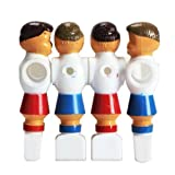 xlpace Pack of 4 Rod Foosball Soccer Table Football Men Player Replacement Parts