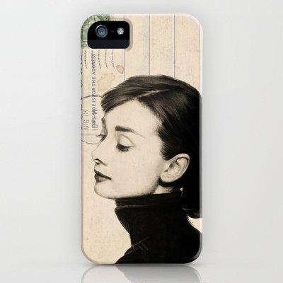 Society6/ソサエティシックス iphone5 ケース オードリー・ヘップバーン/Audrey_Hepburn