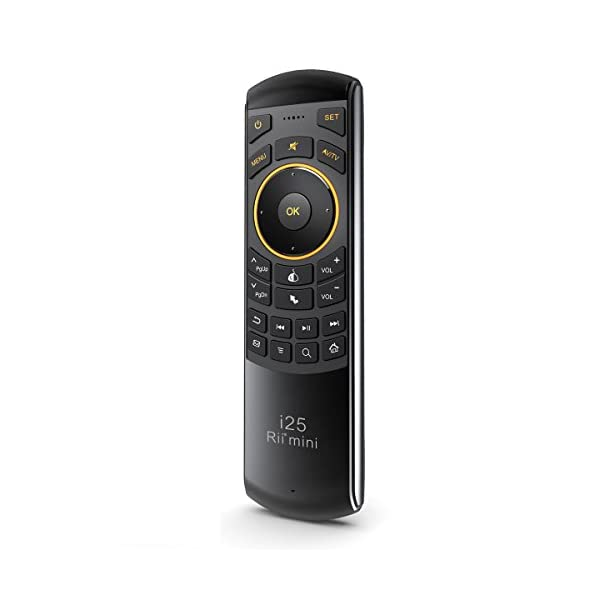 Rii-Mini-i25-sans-fil-AZERTY-Mini-Clavier-Air-Mouse-et-tlcommande-infrarouge-pour-Android-TV-Box-Mini-PC-HTPC