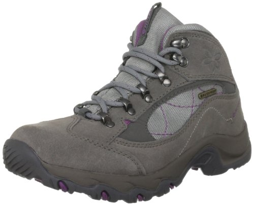 Hi-Tec Women's Merlin Wp Hot Grey/Mulberry Hiking Boot O001707/052/01 6 UK, 39 EU, 8 US