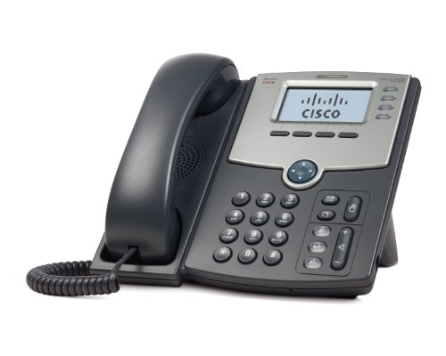 cisco-spa504g-4-line-ip-phone-with-2-port-switch-poe-and-lcd-display-silver-grey