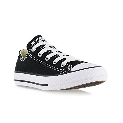Converse C/T All Star OX Little Kids Fashion Sneakers Black 3j235-2.5