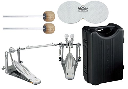 TAMA HP910LWN Speed Cobra 910 Double Bass Drum Pedal w/ Case, Impact Patches, and Extra Wood Beaters (Tama Cobra Coil compare prices)