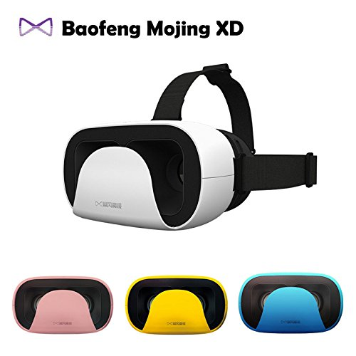"""2016 Baofeng Mojing XD 3D VR Glasses Virtual Reality Helmet Cardboard Box for iPhone 6 6S Plus & Android 4.7 - 5.5 6"""" Smartphone"""