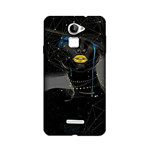 PrintRose Coolpad note 3 lite back cover - High Quality Designer Case and Covers for Coolpad note 3 lite Woman in black