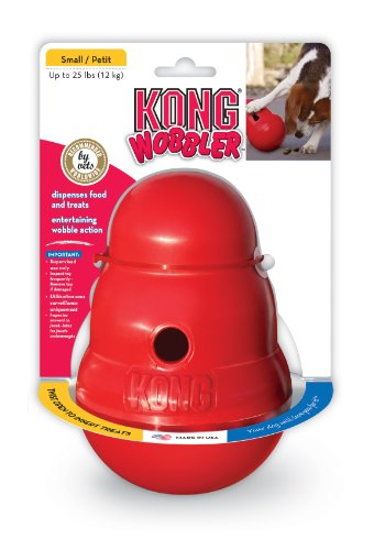 KONG Wobbler, Dog Toy, Small