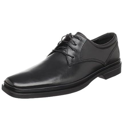 Calvin Klein 卡尔文·克莱恩 男士真皮商务鞋 Buster ...