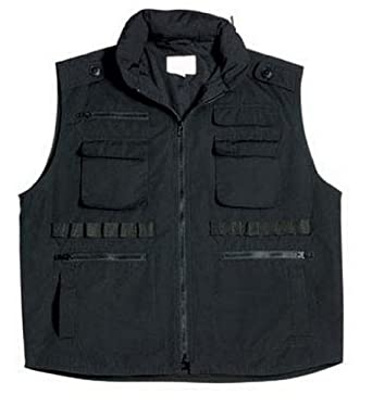 Kids Hunting Vest Black