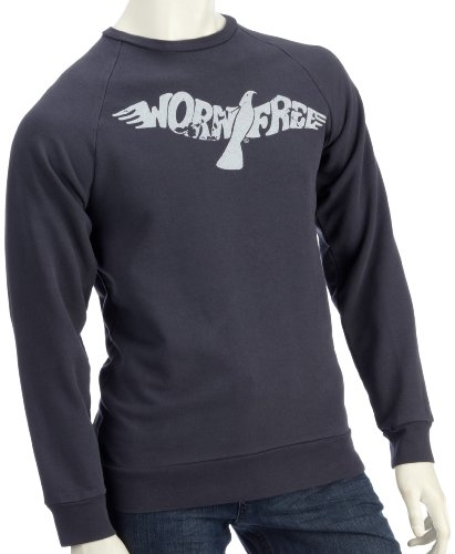Lost Property by Worn Free Mens Worn Free Sweatshirt Black XS