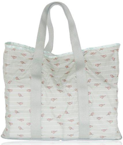 Xo(Eco) By Blueavocado Shopper Resuable Bags, Sage Birds