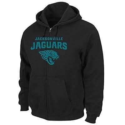 NFL Jacksonville Jaguars Men's Touchback VI Fleece Jacket, Black, Small
