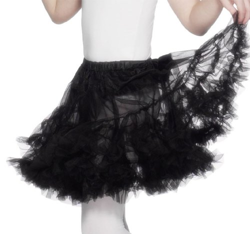 Smiffys Girl'S Black Swan Tutu Skirt