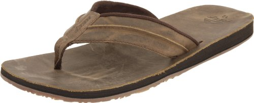 Reef Men's REEF MARBEA Flip Flops R2390DAB Dark Brown 5 UK