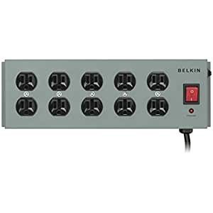 Belkin 10-Outlet Metal Surge Master with 15-Foot
