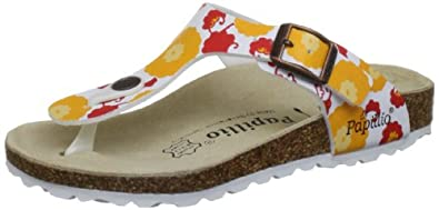 Papillio by Birkenstock Gizeh Orange Flip and Thong Sandal 204182 1 UK Junior, 32 EU