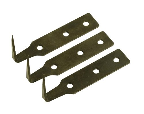 Sealey WK02001 Windscreen Removal Tool Blade, 18 mm, Set of 3