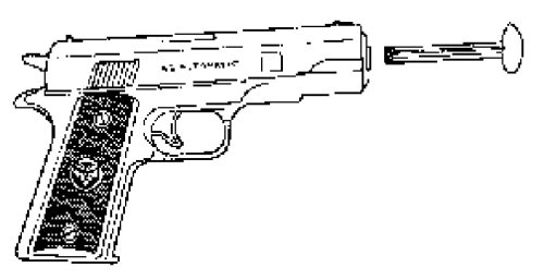 Dart Gun Includes 4 Darts - 1