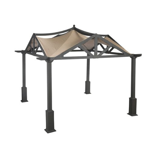 Replacement Canopy for Garden Treasures 10' x 10' Pergola Gazebo - RipLock 500 picture