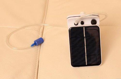Sunnytech 174 Solar Power Pond Oxygenator Air Pump Oxygen