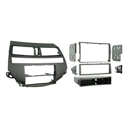 Metra 99-7875 Single/Double DIN Installation Kit for 2008-2009 Honda Accord Vehicles with Dual-Zone Climate Controls (Metra 99 2009 compare prices)