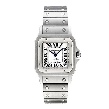 Cartier Men's W20098D6 Santos de Cartier Galbe XL Stainless Steel Automatic Watch