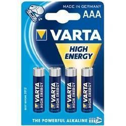 Varta High Energy 4906 Mignon AA LR6 20x 4er Blister