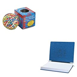 KITACC54073ACC72155 - Value Kit - Acco Pressboard Hanging Data Binder (ACC54073) and Acco Rubber Band Ball (ACC72155)