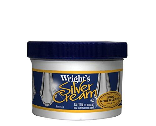 Wright's Silver Cream Polish, 8 oz (Wrights Brass Polish compare prices)