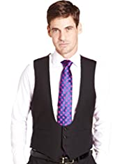Sartorial Pure Wool 3 Button Waistcoat