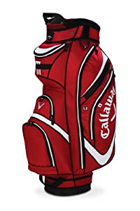 Callaway Chev Org Cart Bag, Red