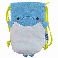 アニマルパーク《イルカ》スマートフォンソフトボア巾着かわいい動物グッズ通販/