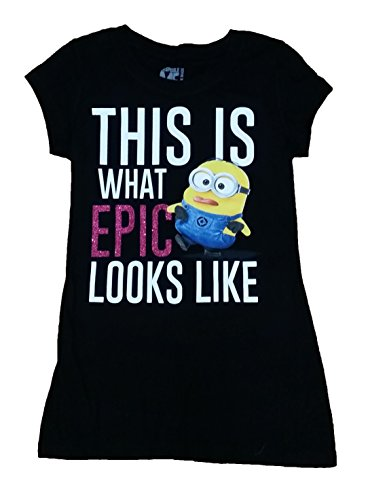 Minions This Is What Epic Looks Like Licensed Graphic T-Shirt