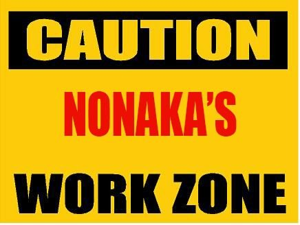 6-caution-nomura-work-zone-vinyl-decal-bumper-sticker