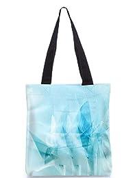 Snoogg Abstract Art Work Digitally Printed Utility Tote Bag Handbag Made Of Poly Canvas