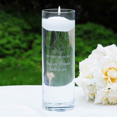 Concepts Whimsical Hearts Floating Unity Candle